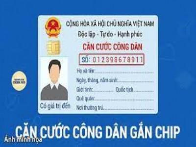 Có bắt buộc làm thẻ căn cước công dân gắn chip không?