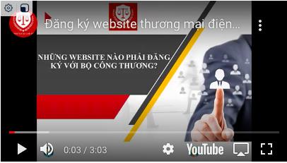 [Hà Nội Luật] Hướng dẫn đăng ký Website TMĐT